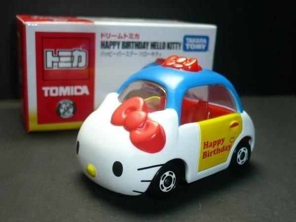 【震撼精品百貨】 TOMICA多美~Dream TOMICA 夢幻小汽車 凱蒂貓小汽車-40周年限定款(藍紅)#80633