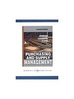 二手書博民逛書店《Purchasing Supply Management》 R