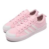 adidas 休閒鞋 Bravada 粉紅 白 女鞋 三條線 愛迪達 帆布鞋 基本款 運動鞋 【ACS】 FY8806