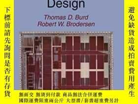 二手書博民逛書店Energy罕見Efficient Microprocessor Design-節能微處理器設計Y436638