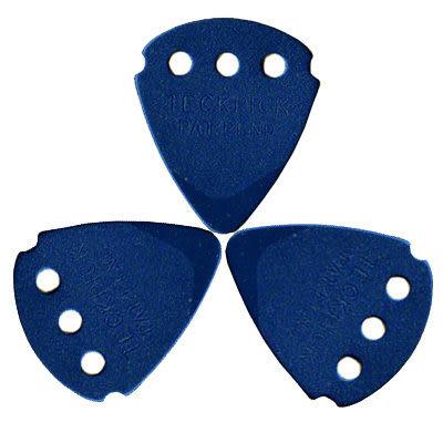 ★集樂城樂器★Dunlop Signature(Teckpick)鐵質感吉他彈片-藍(12片裝)