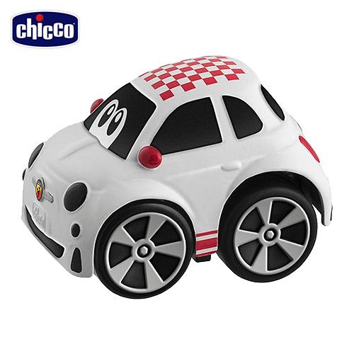 Chicco FIAT 500 Abarth 經典迴力車-紅格紋【佳兒園婦幼館】