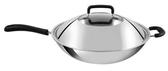 法國【TEFAL】特福多層鋼32cm單柄炒鍋含蓋+鍋鏟