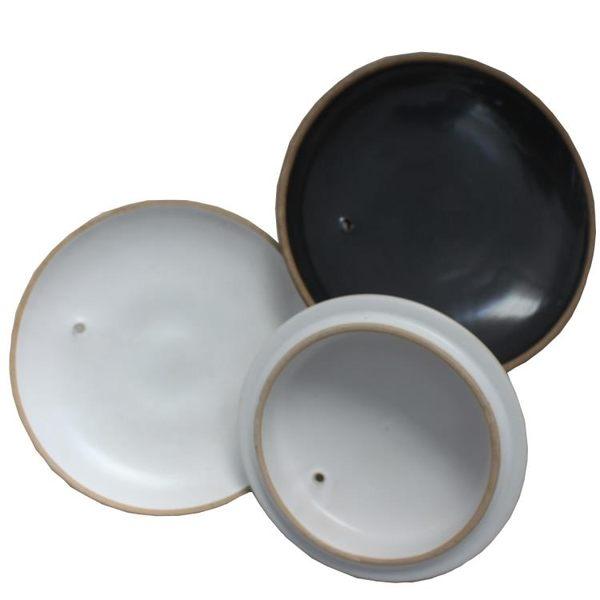 康舒陶瓷砂鍋蓋子通用配件淘磁煲蓋燉罐鍋白色沙紗鍋中藥鍋蓋家用