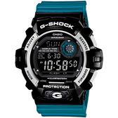 G-SHOCK 仲夏輕慢跑男錶-藍X黑_G-8900SC-1B