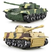 兒童玩具 男孩大號慣性聲光越野裝甲坦克車99式德國虎式玩具模型LJ10055『夢幻家居』