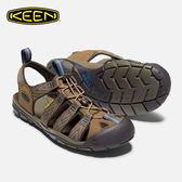 KEEN 男款 織帶涼鞋Clearwater CNX 1018495 / 城市綠洲 (水陸兩用、輕量、戶外休閒鞋、運動涼鞋)