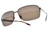 HUGO BOSS 偏光太陽眼鏡 HB0619S Q7X (棕) 時尚潮流半框款 # 金橘眼鏡