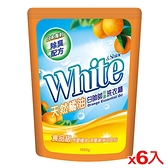 白帥帥天然橘油洗衣精補充包1650g*6包(箱)【愛買】