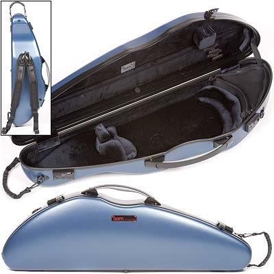 【金聲樂器廣場】 BAM 2000 XL / 2000XL Hightech 藍色 4/4 小提琴 盒 硬盒
