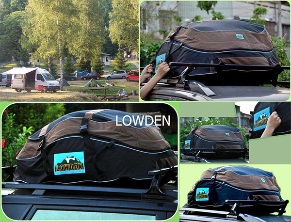 LOWDEN車頂袋 軟式車頂袋/軟式車頂行李箱,行李包,防水包(車頂橫桿或直桿可以加裝)