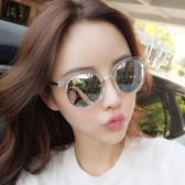 售完即止-墨鏡女潮復古原宿風網紅同款眼睛gm太陽眼鏡防紫外線3-13庫存清出S