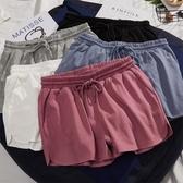 短褲女夏2020寬鬆居家外穿韓版ins潮顯鮑褲高腰顯瘦瑜伽運動熱褲 貝芙莉