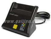 [富廉網] Digifusion 伽利略 RU035  直立式晶片讀卡機