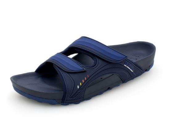 G.P 男款厚底 機能柏肯休閒涼拖鞋 藍-NO.G9030M-20