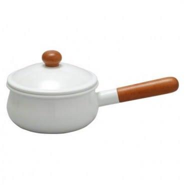 日本《野田琺瑯》POCHIKA花蕾‧甜蜜雙人鍋(15cm)