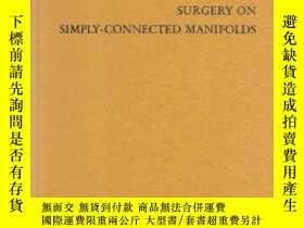 二手書博民逛書店Surgery罕見On Simply-connected ManifoldsY364682 Browder,