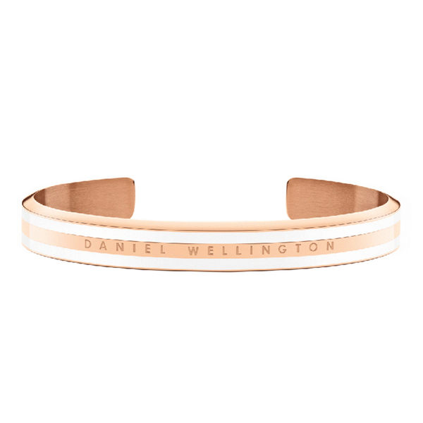 Daniel Wellington DW 手環 Classic Slim Bracelet 時尚奢華手鐲 玫瑰金x白-M
