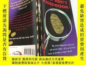 二手書博民逛書店the罕見secret agent s handbook:特工手冊Y200392