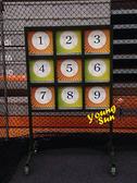 棒球九宮格 投擲遊戲 連線賓果 職棒訓練 運動 全新製做買賣 客製化訂做 大型遊戲