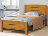 床架 床台 PK-406-4 愛其華樟木3.5尺單人床 (不含床墊) 【大眾家居舘】