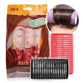 Belle Madame 貝麗瑪丹 J32-6 百變造型髮卷 6入/包(32m/m) 隨機出貨不挑款/色 ◆86小舖◆