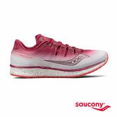 SAUCONY FREEDOM ISO 專業訓練鞋款-莓果紅x白漸層