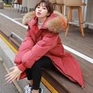 連帽外套 棉襖女好康推薦新款反季羽絨棉服學生冬季中長版棉衣正韓外套面包服厚