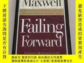 二手書博民逛書店Failing罕見Forward: Turning Mistakes into Stepping Stones f
