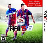 3DS FIFA 15 國際足盟大賽 15(美版代購)