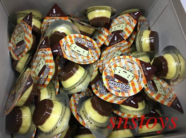 sns 古早味 進口食品 巧克力 布丁巧克力 丹生堂 迷你布丁巧克力 約80個 224公克