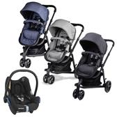 英國 Unilove Touring 多功能嬰兒推車-3色可選【加贈MAXI-COSI CabrioFix新生兒提籃】