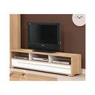 【森可家居】明日香6尺電視櫃 7ZX370-4 長櫃 木紋質感 日式 日系 無印風 北歐風