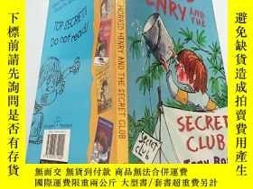 二手書博民逛書店Horrid罕見Henry and the Secret Club:可怕的亨利和秘密俱樂部..Y200392