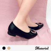包鞋 古典方鑽平底包鞋 MA女鞋 T2522
