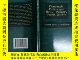 二手書博民逛書店Edinburgh:Picturesque罕見Notes 愛丁堡