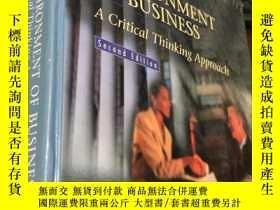 二手書博民逛書店The罕見LEGAL ENVIRONMENT OF BUSINESS A Critical Thinking Ap