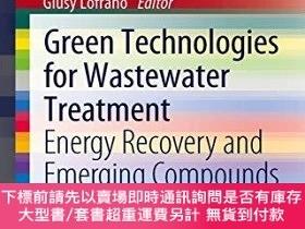 二手書博民逛書店Green罕見Technologies For Wastewater TreatmentY255174 Lof