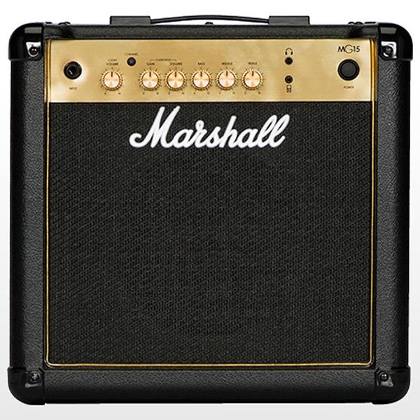 Marshall MG15G 經典金色15W電吉他音箱