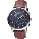 Timberland 天柏嵐 兩地時間多功能手錶(TBL.16089JSS/02)45mm