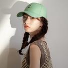 鴨舌帽 2021春夏帽子女韓國ins字母潮牌鴨舌帽學生復古百搭遮陽棒球帽 晶彩