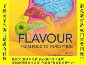 二手書博民逛書店Flavour:罕見From Food to PerceptionY410016 Elisabeth Guic