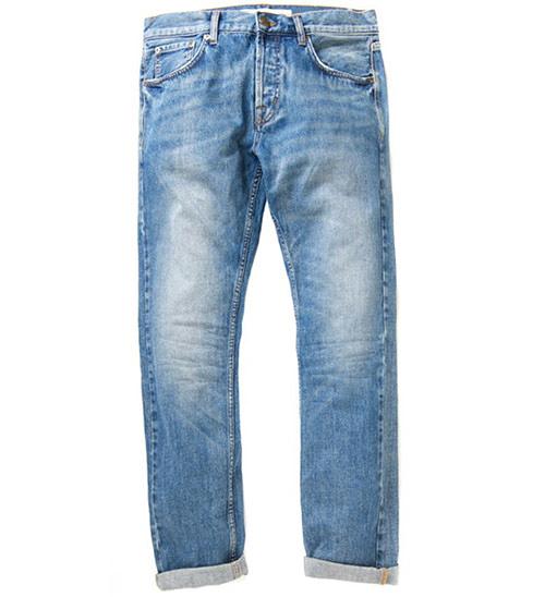 Deus Ex Machina Knox Straight 牛仔褲    騎士衝浪品牌 -  (刷洗青藍)