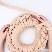 黛青超粗毛線灌芯棉特粗冰島毛線手工diy編織寵貓狗窩毯子布條線