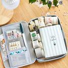 韓版帆布筆袋簡約大容量鉛筆袋多功能文具盒【YYJ-4952】