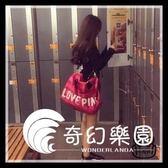 健身包-運動健身包女包健身潮短途旅行包手提袋大容量手提輕便簡約行李包-奇幻樂園