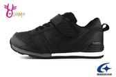 月星童鞋 moonstar矯正機能鞋 Hi系列 機能童鞋 後跟穩定 男童運動鞋  I9632#黑色◆OSOME奧森鞋業