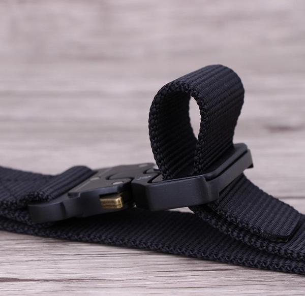 眼鏡蛇戰術腰帶-男戶外尼龍褲帶軍訓多功能學生帆布皮帶男潮年輕人