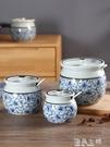 調味罐調味罐瓶調料盒陶瓷中式仿古調料鹽罐...