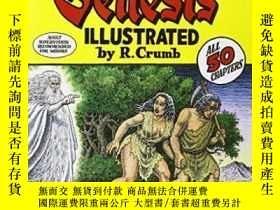 二手書博民逛書店The罕見Book Of GenesisY256260 R. Crumb W. W. Norton &
